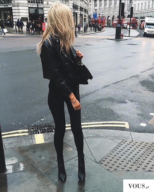 total black, u blondynki