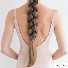 Przepiękny warkocz, zdrowe włosy