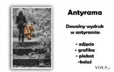 W #antyramę można oprawić zdjęcie lub grafikę. Idealnie pasuje do nowoczesnych wnętrz, a komplet ...