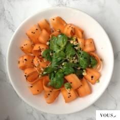 Witarianizm / moje jedzenie / inspiracja marchewka z czarnuszką i kiełkami