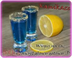 Niebieskie Kamikaze – lekko wchodzą, mocno klepią i świetnie rozkręcają imprezy;)  Niebies ...