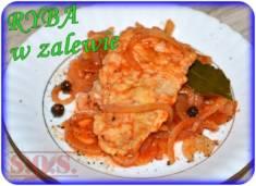 Ryba w zalewie pomidorowo-octowej – smaczna i łatwa rybka na imprezę, na Wigilię, na przek ...