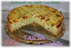 Tarta z cukinią – zdecydowanie najlepsza wytrawna tarta, jaką w życiu jadłam;D  Tarta z cu ...