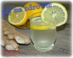 Woda z imbirem i cytryną – skutecznie podniosła moją odporność;)  Woda z imbirem i cytryną ...
