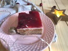 Czekoladowy sernik z frużeliną wiśniową | AleTorcik! – przepisy na pyszne, domowe ciasta,  ...