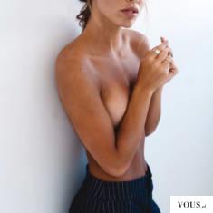 nieopalone piersi