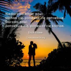 ? Erich Fromm cytat o miłości ? | Cytaty motywacyjne