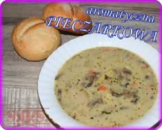 Zupa pieczarkowa | Blog Kulinarny Przepis jest prosty i co najlepsze zawsze się udaje. W czasie  ...