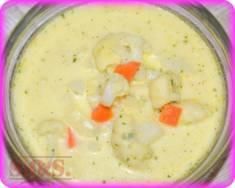Zupa kalafiorowa | Blog Kulinarny Najzwyklejsza najprostsza kalafiorowa😊 Taką gotowała moja babc ...