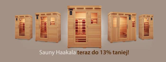 Sprawdź niższe ceny saun na podczerwień na haakala.pl