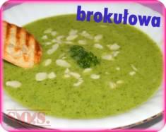 Zupa krem z brokułów | Blog Kulinarny Bardzo smaczna zupka z ugotowanych i zmiksowanych brokułów ...