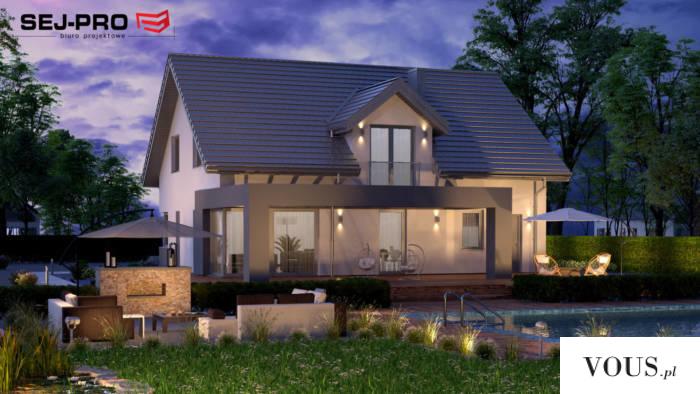 SEJ-PRO 007 ENERGO to nowoczesny, energooszczędny przytulny i wygodny dom jednorodzinny. Pięknie ...