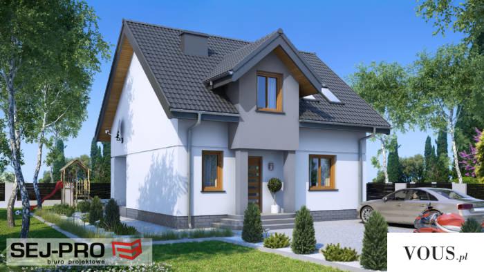 SEJ-PRO 001 ENERG0 to nowoczesny, energooszczędny i komfortowy dom jednorodzinny.  Budynek z pew ...