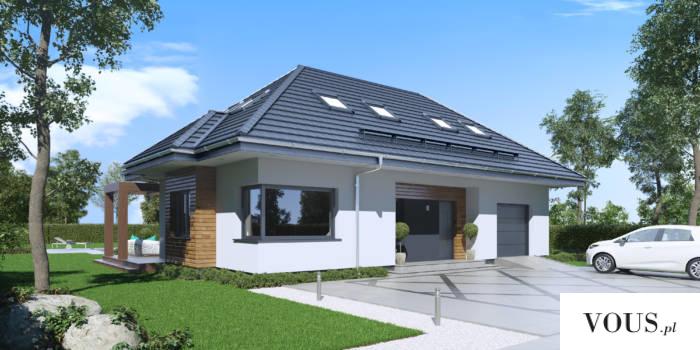 """SEJ-PRO 005 G to ciekawy projekt z rodziny domów klasycznych, będący przekształceniem """"SEJ-PRO 0 ..."""
