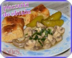 Duszone pieczarki   Blog Kulinarny