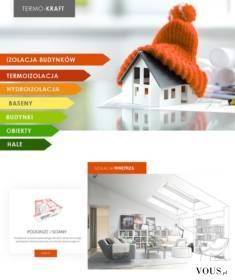 Termo-Kraft strona internetowa – profesjonalne systemy izolacji budynków i pomieszczeń