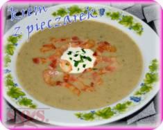 Zupa pieczarkowa krem   Blog Kulinarny