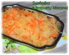Surówka z kiszonej kapusty | Blog Kulinarny