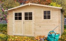 Drewniany domek narzędziowy Narcyz