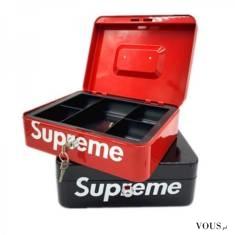シュプリーム 収納ボックス ブラント Supreme アクセサリーケース 大容量 収納 鍵付き http://suprecas ...