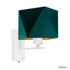 Lampa ścienna ONTARIO GOLD to reprezentant nowoczesnego designu i innowacyjności. Kinkiet ten sk ...