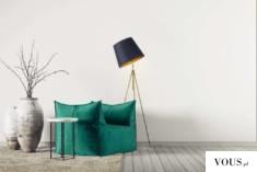 Lampa stojąca OSLO GOLD to oświetlenie charakteryzujące się niestandardową konstrukcją. Metalowy ...
