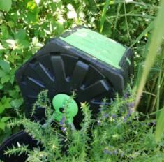 Wykonany z wysokiej jakości materiałów kompostownik firmy Garden Point pozwala tworzyć najlepszy ...