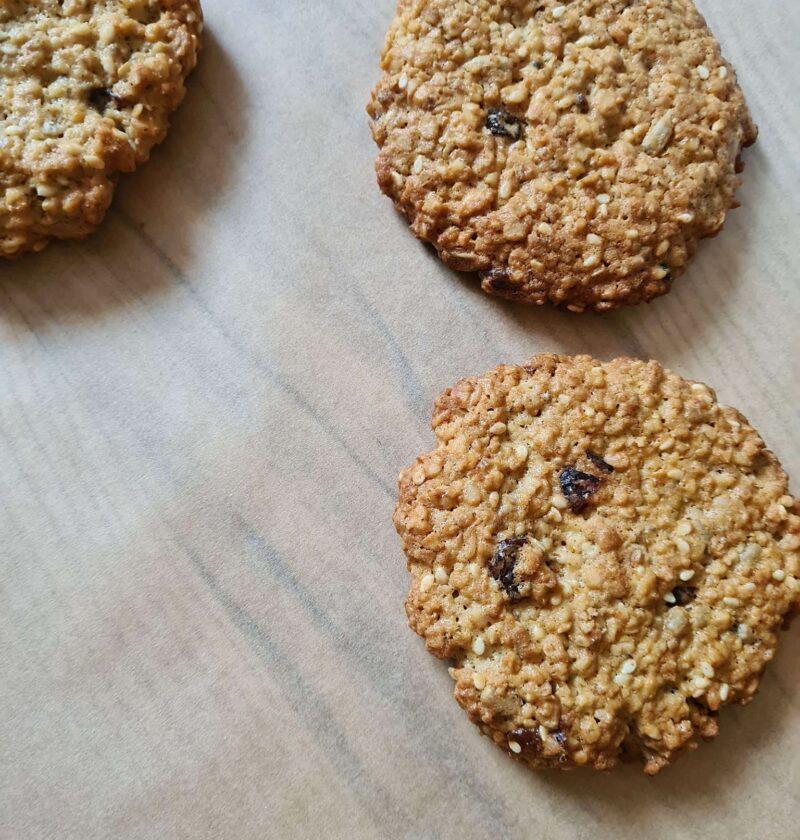 Ciasteczka owsiane ze słonecznikiem | AleTorcik! – przepisy na pyszne, domowe ciasta, cias ...