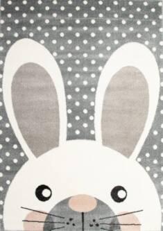 Dywan dziecięcy królik szary – Sklep Eureka