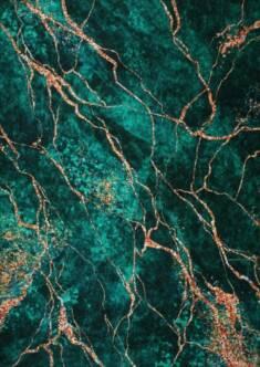 Dywan Simo 106 antypoślizgowy abstrakcyjny zielony – Sklep Eureka