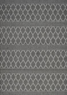 Dywan tkany na płasko antypoślizgowy 02 szary – Sklep Eureka